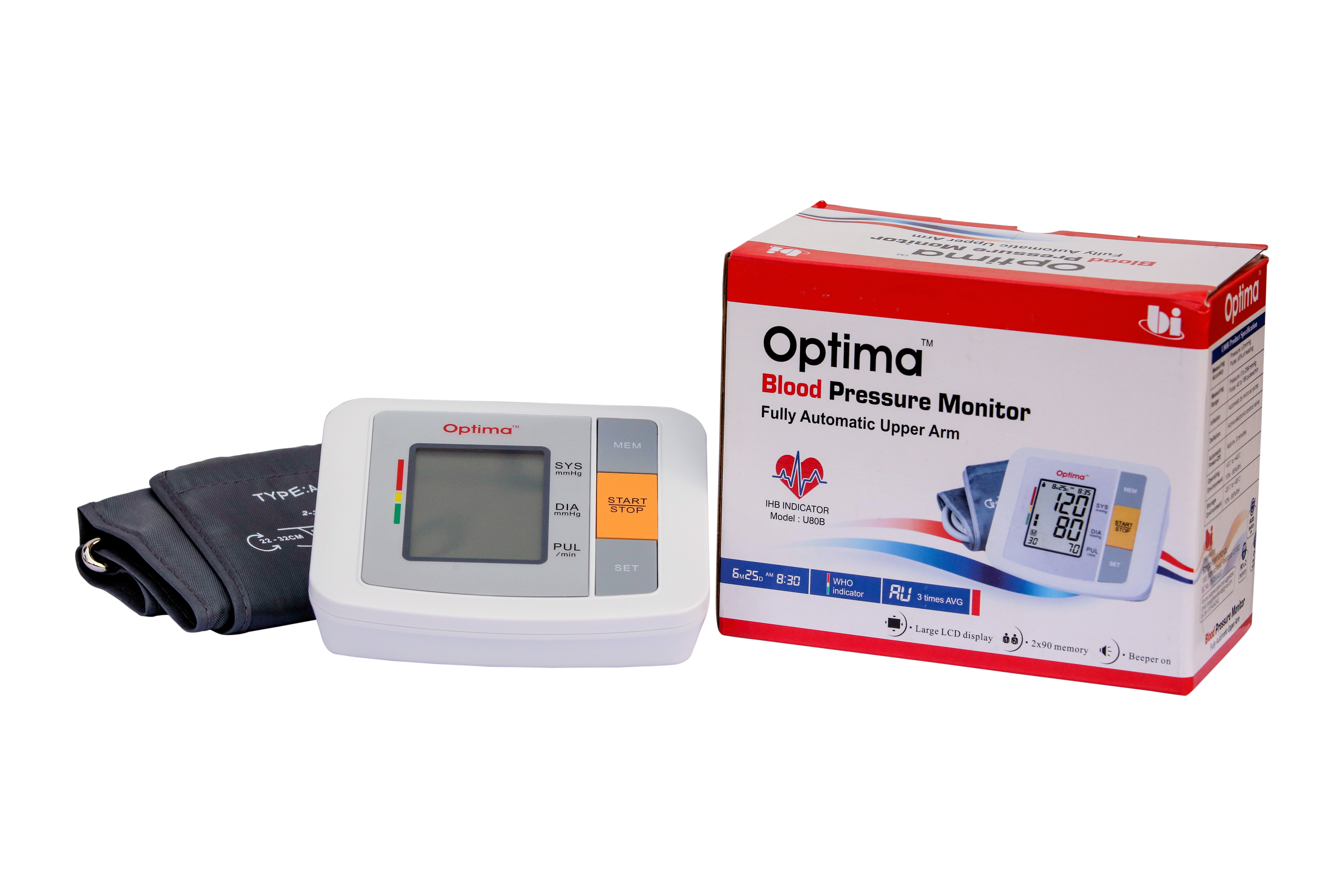 Optima Digital Blood Pressure Monitor